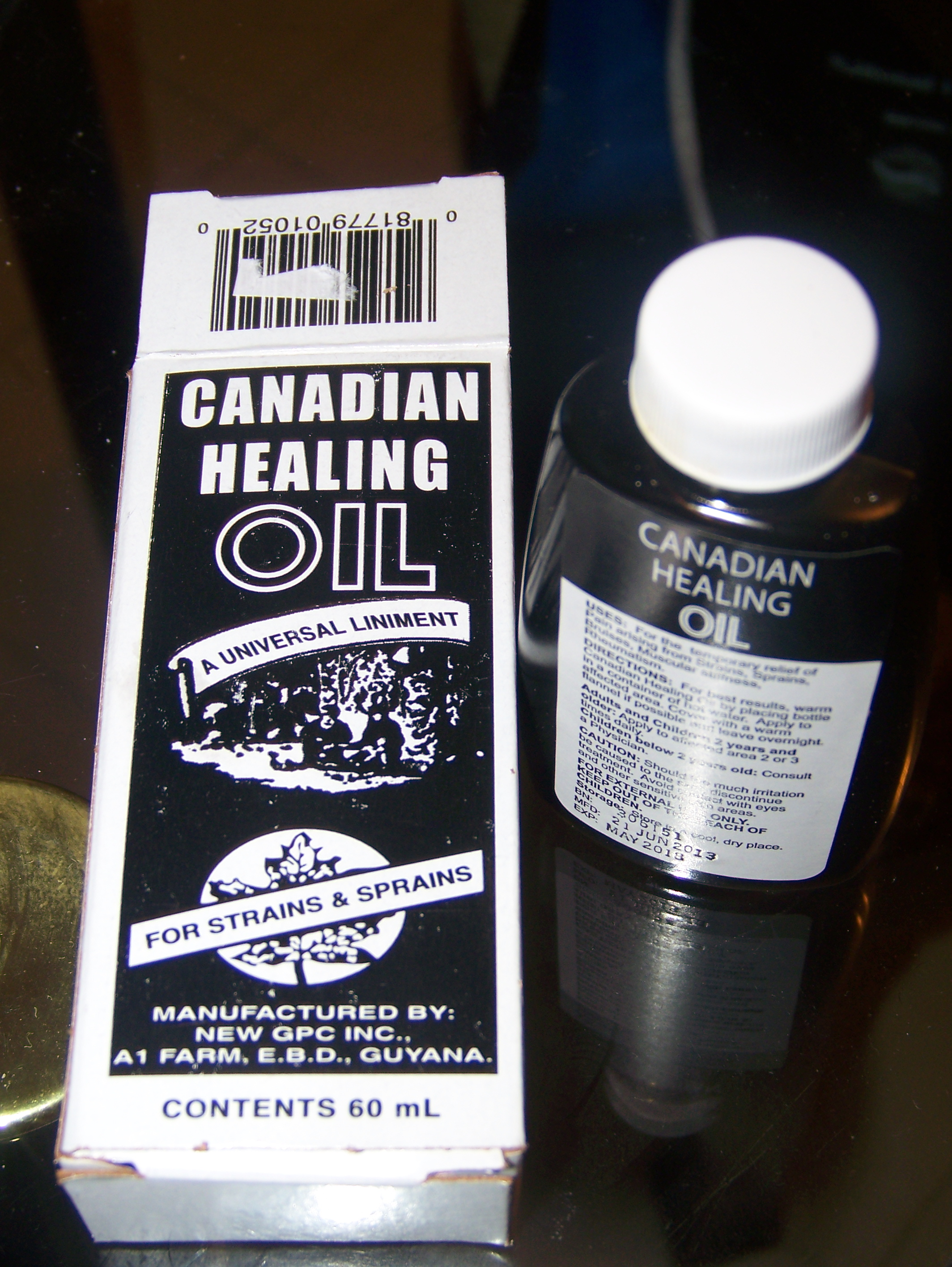 Canadian Healing Oil, good for man or beast | Jamaican Journal