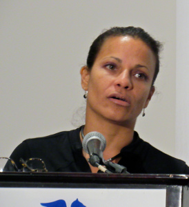 Kinshasa Carvalho gave a riveting account of the ground-breaking activism of the Committee